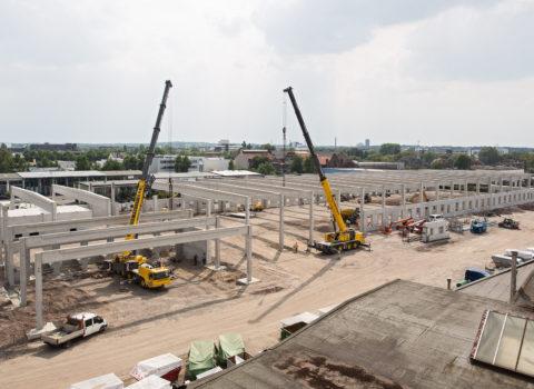 Baustellen Dokumentation – DHL Verteilerzentrum Köln